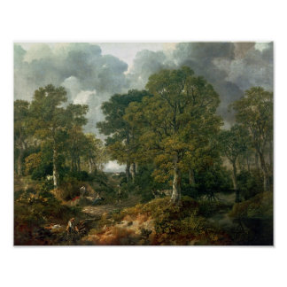 Gainsborough's Forest , c.1748 Poster