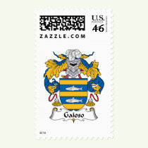Gaioso Family Crest Stamps