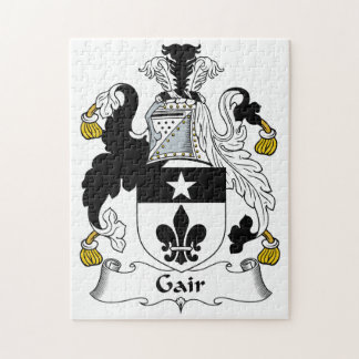 Gair Family Crest Jigsaw Puzzles
