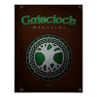 Gaiscioch Magazine Issue 1 Cover Posters