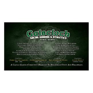 Gaiscioch Promo Cards Business Cards