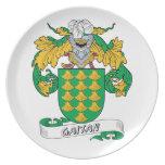 Gaitan Family Crest Dinner Plate