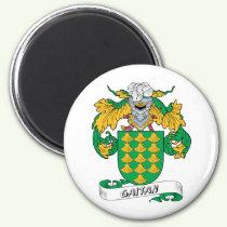Gaitan Family Crest Magnet
