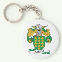 Gaitan Family Crest Keychain
