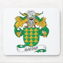 Gaitan Family Crest Mousepad