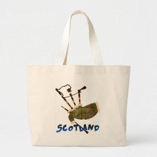 Gaitas de Escocia Bolsa Tela Grande