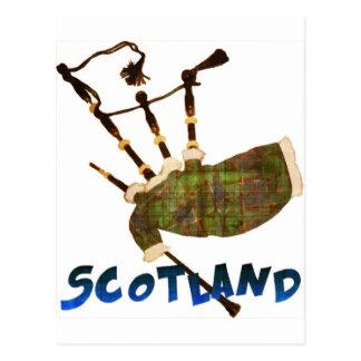 Gaitas de Escocia Tarjeta Postal