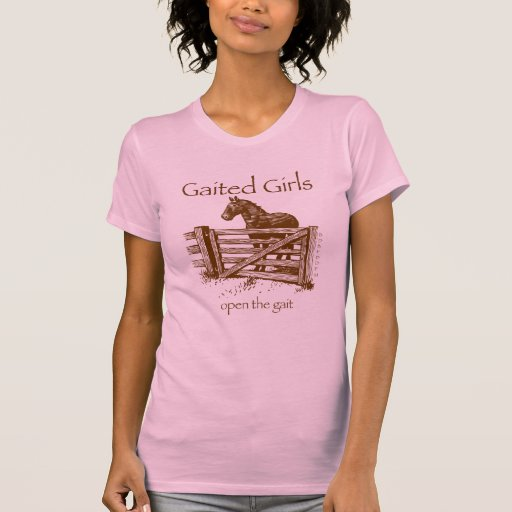 Gaited-Gals-in-brown T-shirt
