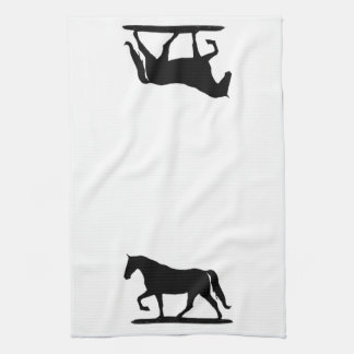 Gaited horse kitchen towel, Tenessee Walking Horse Hand Towel