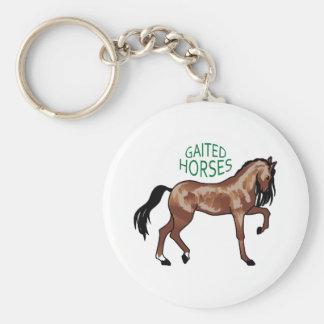 Gaited Horses Keychain
