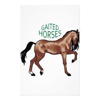 Gaited Horses Stationery