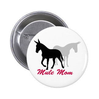 Gaited Mule Mom Button