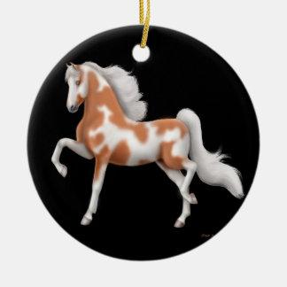 Gaited Paint Horse Ornament