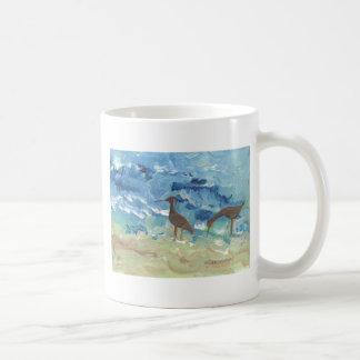 Gaitero de la arena taza de café