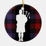 Gaitero escocés adornos de navidad