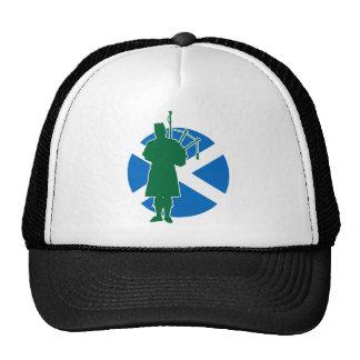 Gaitero escocés gorros bordados