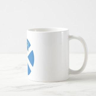 Gaitero escocés taza de café