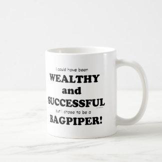 Gaitero rico y acertado taza de café