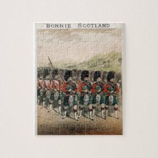 Gaiteros de Bonnie Escocia Puzzle Con Fotos