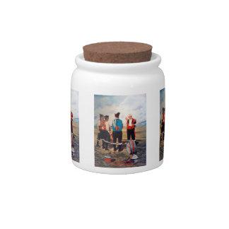 Gaiteros/Gaiteiros/Pipers Candy Jar