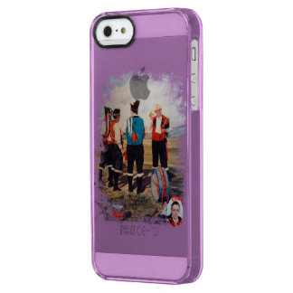 Gaiteros/Gaiteiros/Pipers Clear iPhone SE/5/5s Case