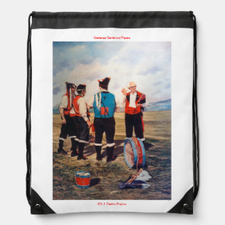 Gaiteros/Gaiteiros/Pipers Drawstring Bag