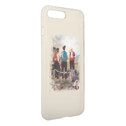 Uncommon iPhone 7 Plus Clearly™ Deflector Case with Shar-Pei Phone Cases design