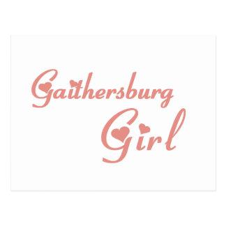 Gaithersburg Girl tee shirts Postcard