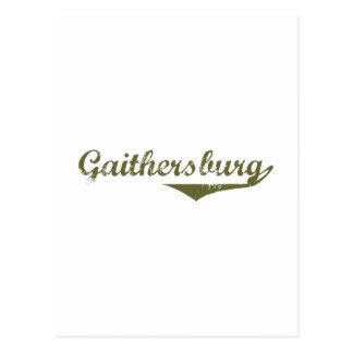 Gaithersburg Revolution t shirts Postcard