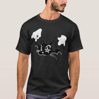 Gaito Cat Grafitti Design T-Shirt