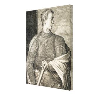 Gaius Caesar 'Caligula' (12-41 AD) Emperor of Rome Canvas Print