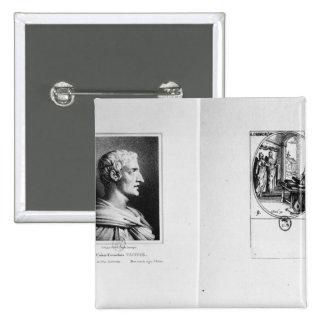 Gaius Cornelio Tácito grabado por Julien Pins