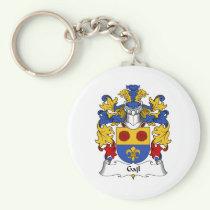Gajl Family Crest Keychain