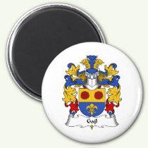 Gajl Family Crest Magnet