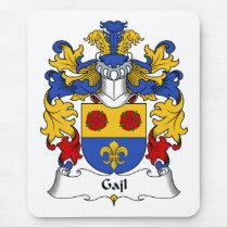 Gajl Family Crest Mousepad