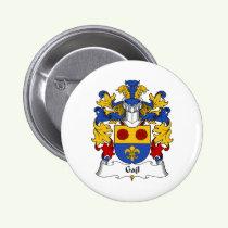 Gajl Family Crest Button