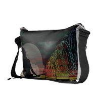 Gal_Guitar_Disco Courier Bag
