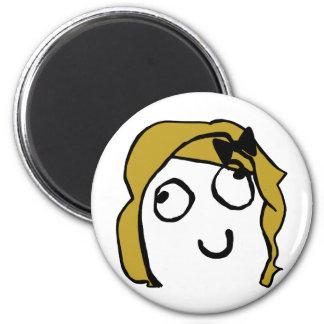 gal meme 2 inch round magnet