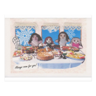 Gal-pals Holiday mug Postcard