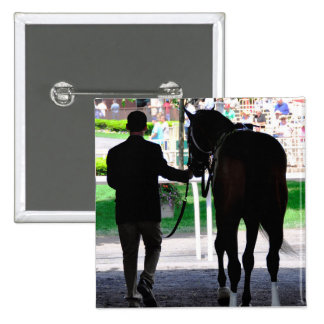 """""""Gala Award"""" in the Paddock at Belmont Park Button"""