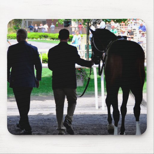 """""""Gala Award"""" in the Paddock at Belmont Park Mousepad"""