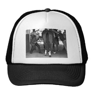 """Gala Award"" in the Paddock at Belmont Park Trucker Hat"