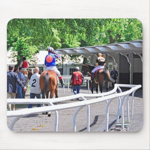 Gala Award wins the Pennine Stakes Mouse Pad