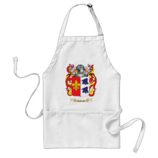 Gala Coat of Arms (Family Crest) Adult Apron