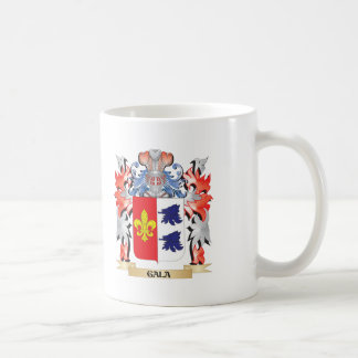 Gala Coat of Arms - Family Crest Coffee Mug