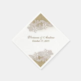 Gala del país del vintage servilletas de papel