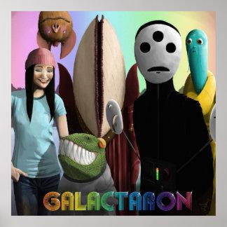 Galactaron Album Poster