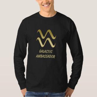 Galactic Ambassador Zodiac Sign Aquarius T-Shirt