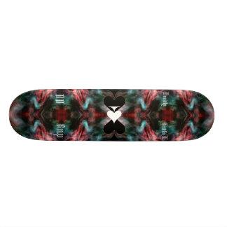 galactic back drop skateboard deck