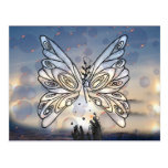 Galactic Butterfly Postcard